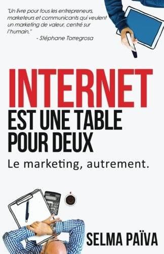 Couverture du livre internet est une table pour deux