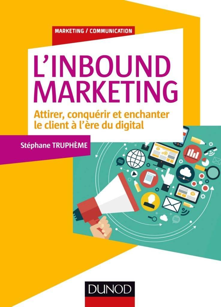 Couverture du livre l'inbound marketing