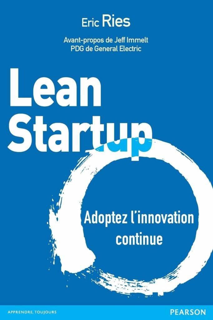 Couverture du livre lean startup